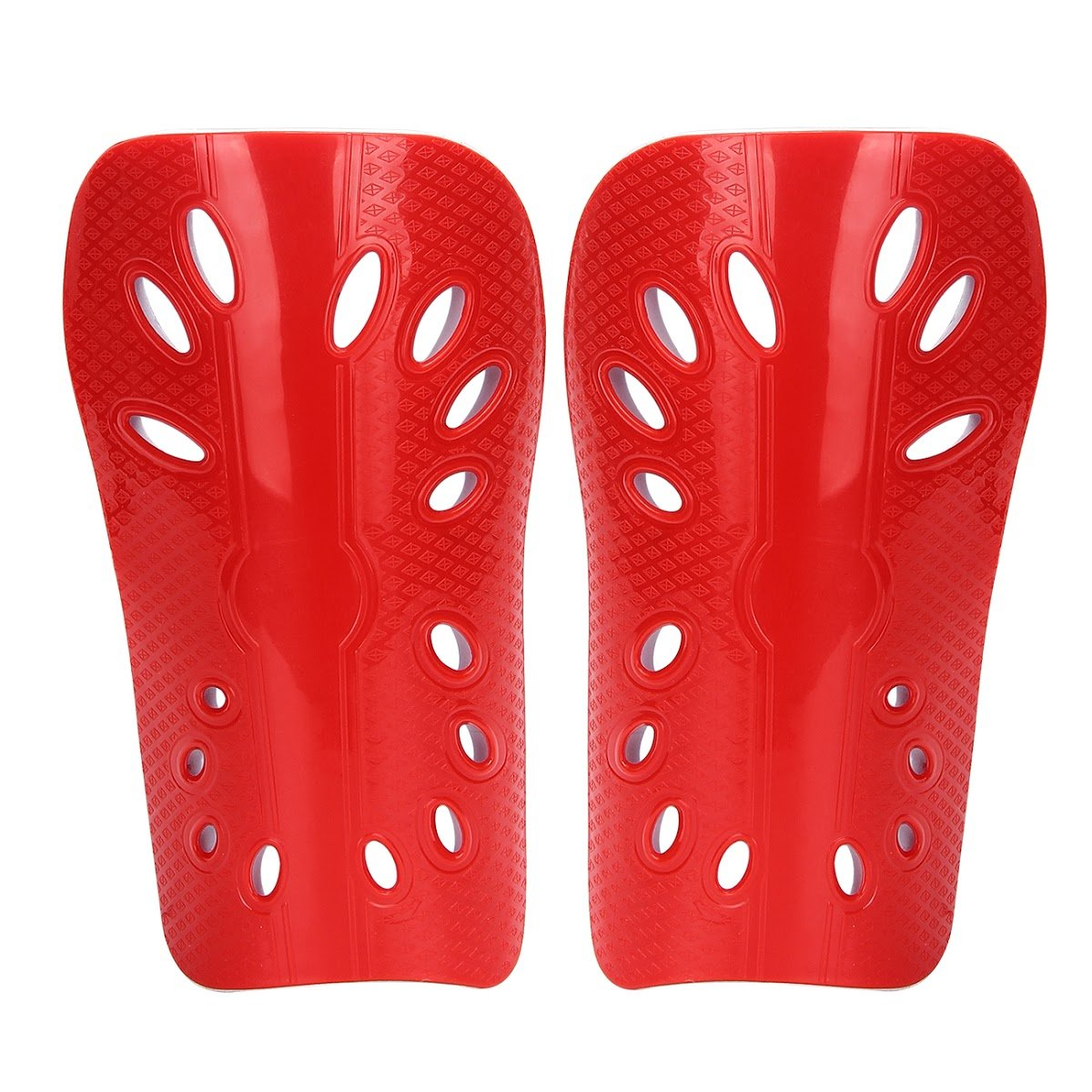 sinolofty Soccer Shin Guard LED Calf Proctive FootballギアパッドArmorプロテクター子供大人 B07BN8H4FMレッド Adult