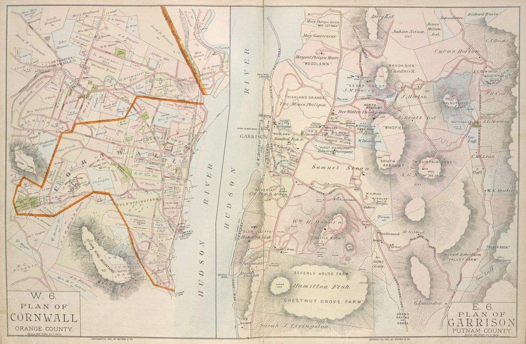 Reprinted 18 x 24 1891 Map of New York A new North America with the West India Islands divided according to the preliminary articles of peace, signed at Versailles, Jan. 1783, wherein are part 0 0 28a