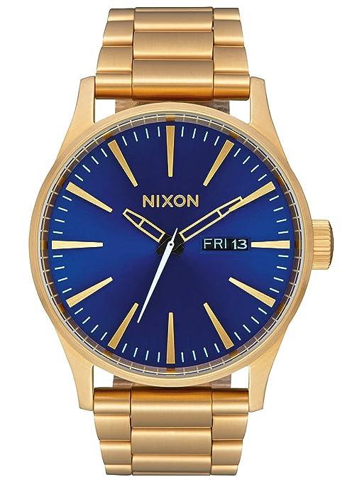 Nixon Reloj Analogico para Hombre de Digital con Correa en Acero Inoxidable A356-2735-