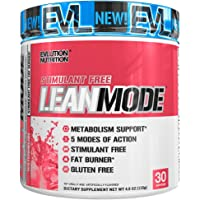 Evlution Nutrition Lean Mode Stimulant-Free Weight Loss Supplement with Garcinia Cambogia, CLA and Green Tea Leaf Extract, 30 Serving (Watermelon)