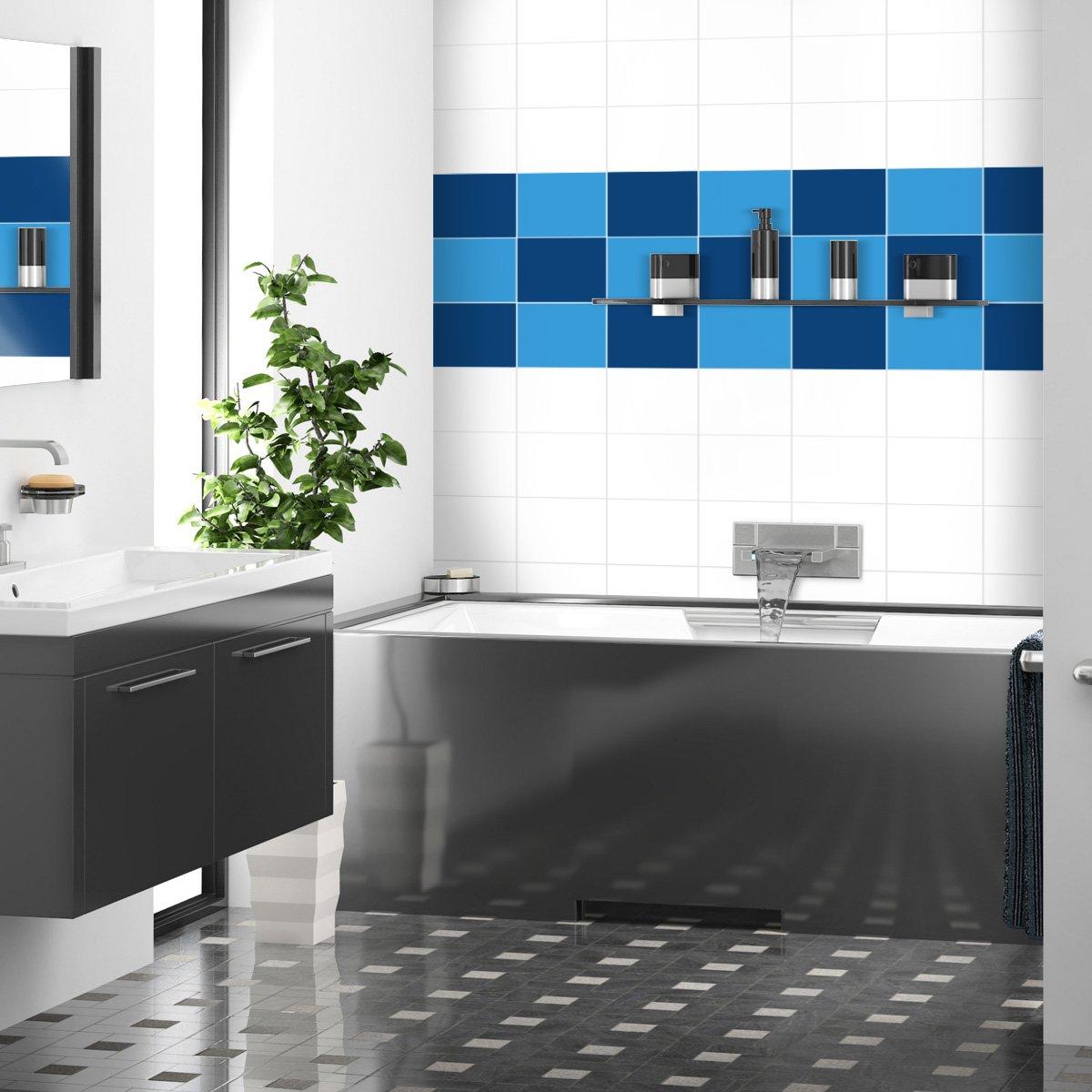 Wandkings Fliesenaufkleber für Küche und Badezimmer, 19,5 x 24,5 24,5 24,5 cm, 50 Stück - Farbe wählbar B007JBGYYO Wandtattoos & Wandbilder 11f80a