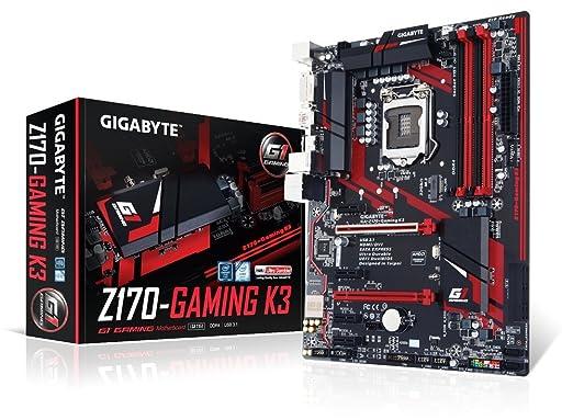 125 opinioni per Gigabyte Motherboard ATX LGA1151 Intel Z170 Ex 4 Ddr4 64GB- Ga-z170-gaming K3