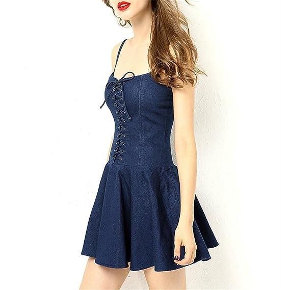 Amazon.com: AS503anakla Fashion curto dress verão irritar fino sem mangas preto sexy dress causal mulheres dress vestidos de fiesta: Clothing