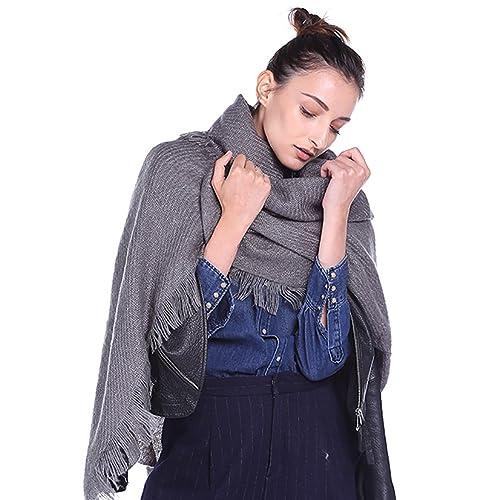 Bufanda de Invierno, Youson Girl® Bufanda para Mujer Grande Color Sólido Moda Bufanda Larga, Calient...