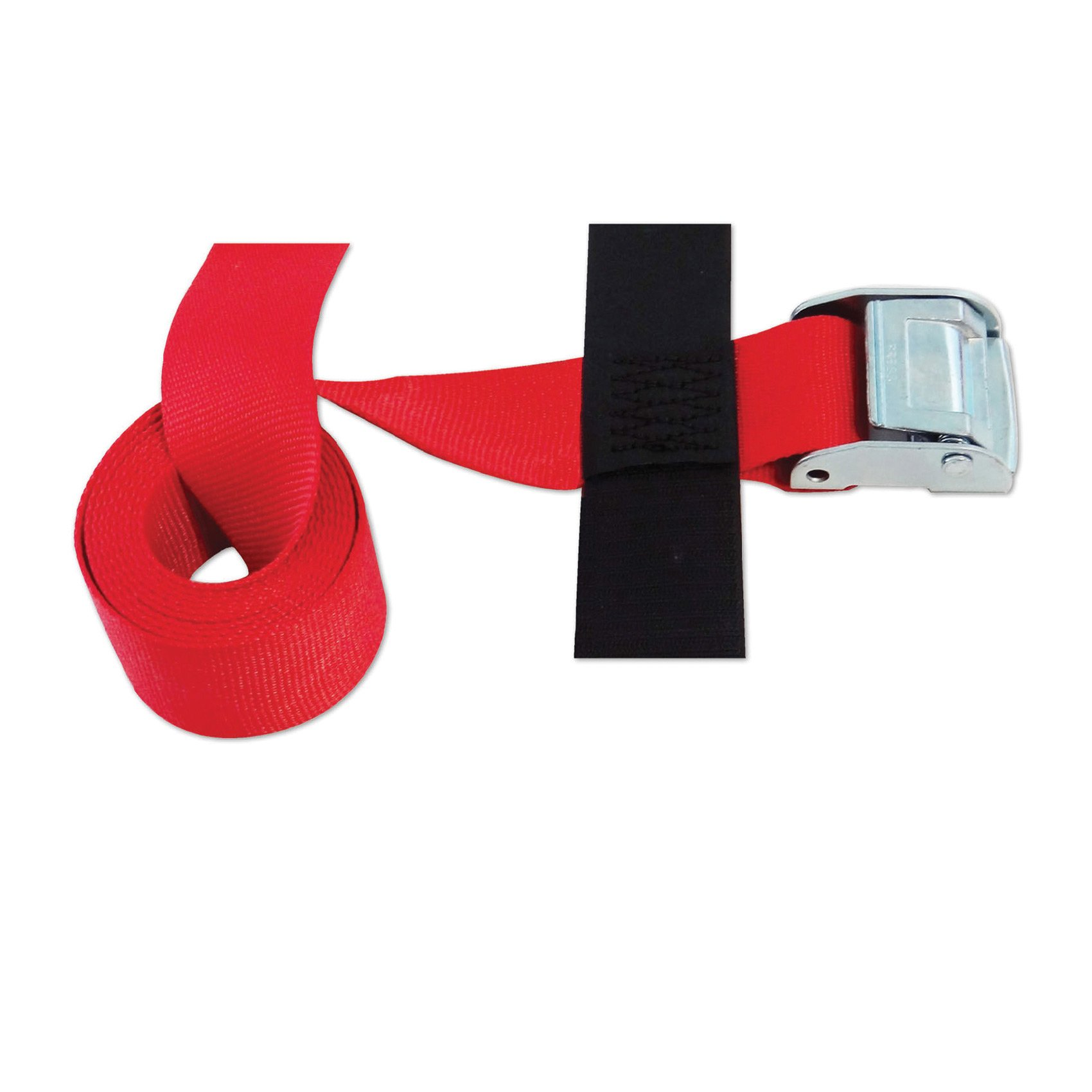 CINCH STRAP 2''x8' CAM (USA!) with Hook & Loop storage fastener