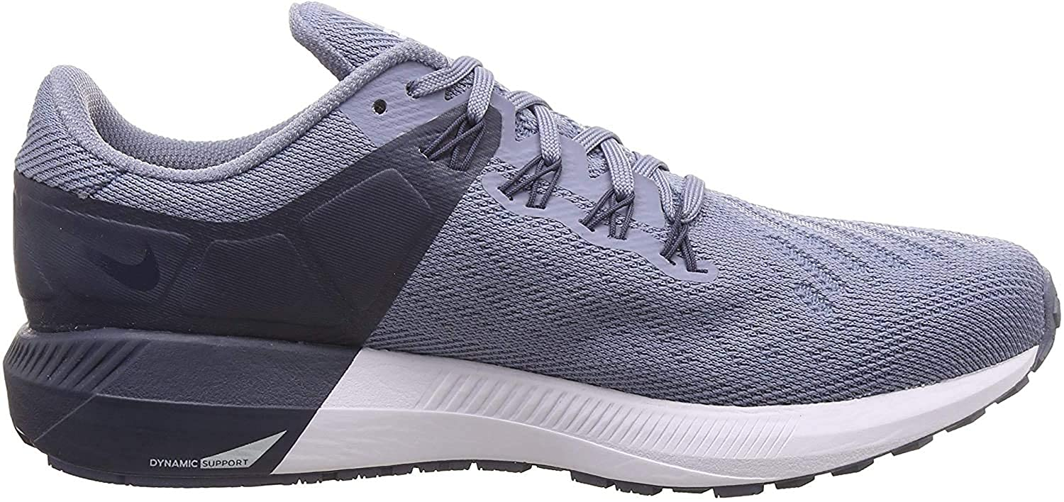 Incorporar músculo cable  Buy Nike Men's Air Zoom Structure 22 Ashn Slate/Gry-Blue Running Shoes-8.5  UK/India (43 EU) (AA1636-401) at Amazon.in