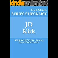 JD Kirk - SERIES CHECKLIST - Reading Order of DCI LOGAN