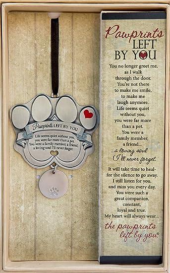 Amazon.com: Adorno para mascota, diseño de huellas de ...