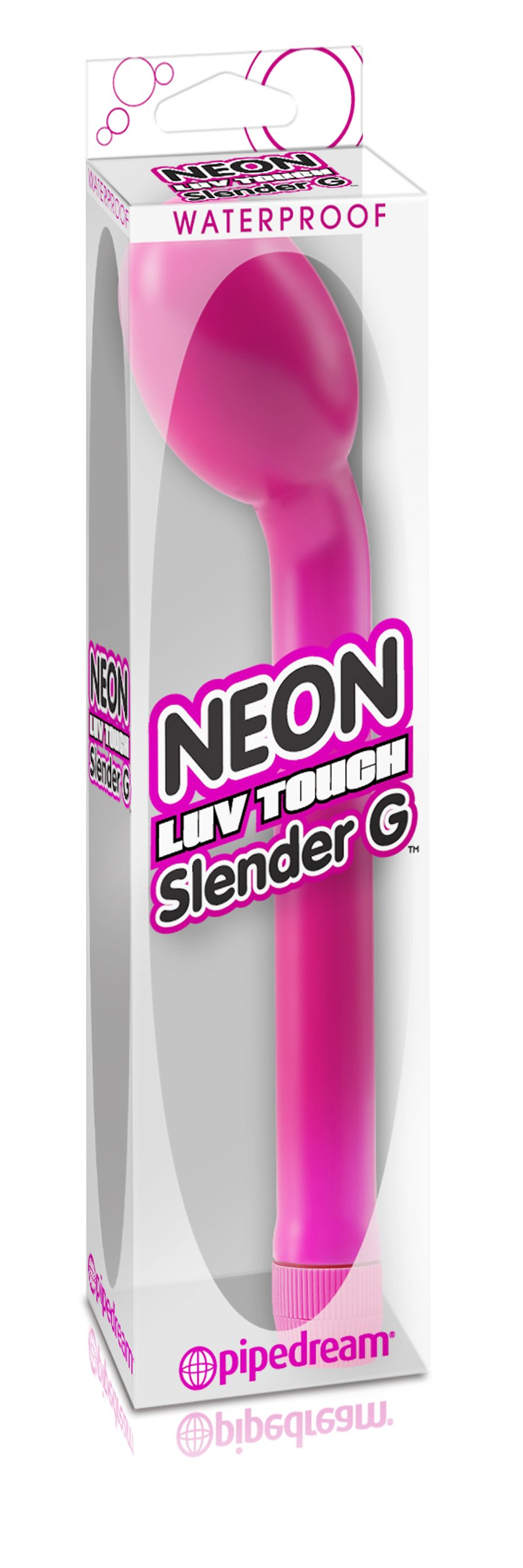 Top Rated - Neon Luv Touch Slender G Pink