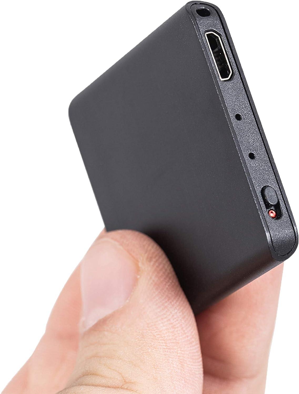 smallest hidden audio recorder