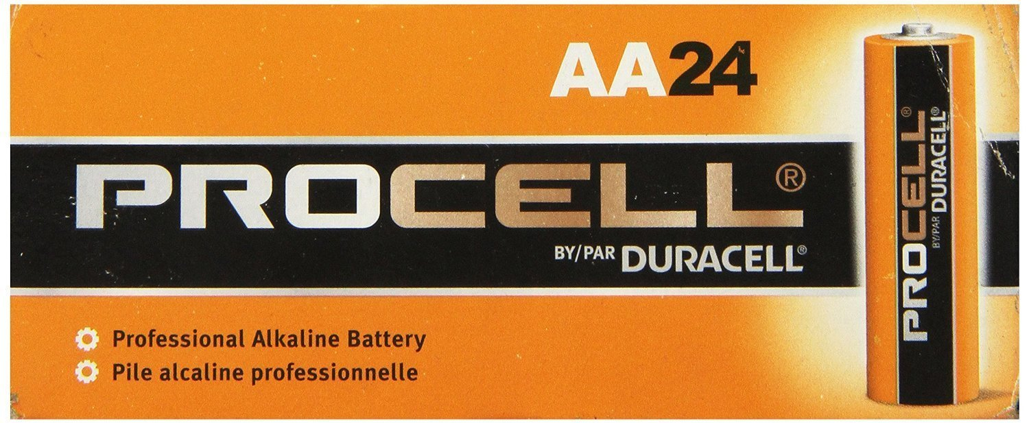 Duracell Procell AA 24 Pack (Pack of 2)
