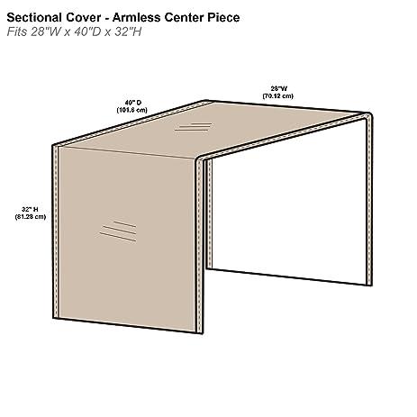 Amazon Protective Covers Inc Modular Sectional Sofa Cover