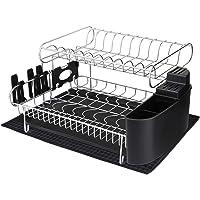 Alvorog 2-Tier Large Capacity Dish Rack