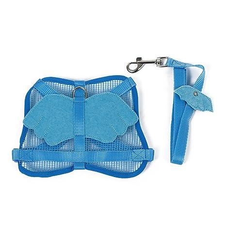 TOOGOO(R) Arnes ajustables azul con ala de angel con Conejo de ala ...