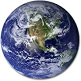 """UNNLEE Beautiful Planet Earth Customized Round Mouse Pad 7.8""""X7.8"""" inch"""