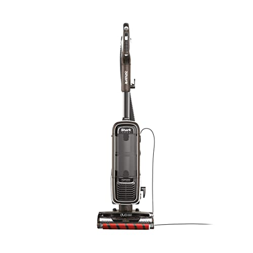 Shark APEX Upright Vacuum with DuoClean for Carpet and HardFloor Cleaning, Zero-M Anti-Hair Wrap, Powered Lift-Away with Hand Vacuum AZ1002 , Espresso Renewed