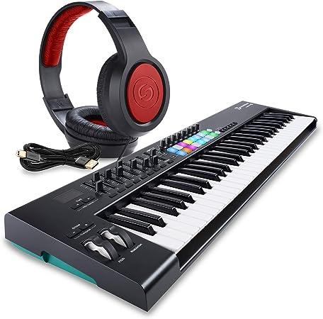 Novation Launchkey MK2 controlador de teclado USB de 61 ...