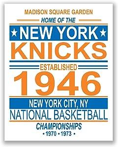 TnT Prints New York Knicks Sports Fan 11x14 Print NBA Basketball