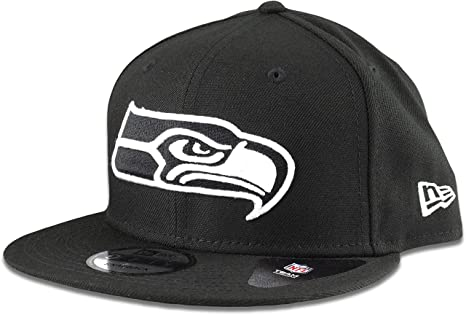 6bdd6ff9f Image Unavailable. Image not available for. Color: New Era Seattle Seahawks  Hat NFL Black ...
