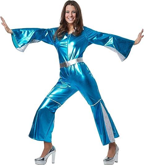 dressforfun 900499 - Disfraz de Mujer Disco Starlet, Piezas Tejido ...