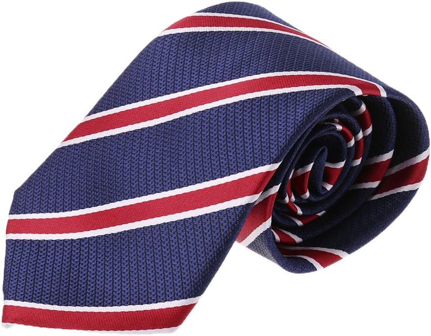 yifeict corbatas élégantes Mens Business Solid rayas diferentes ...