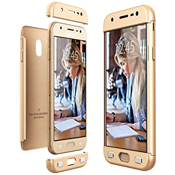 WindTeco Funda Galaxy J3 2017 M/ármol Ultra Fina Funda de Silicona Suave Case Cover Protecci/ón C/áscara Soft Gel TPU Carcasa Funda para Samsung Galaxy J3 2017