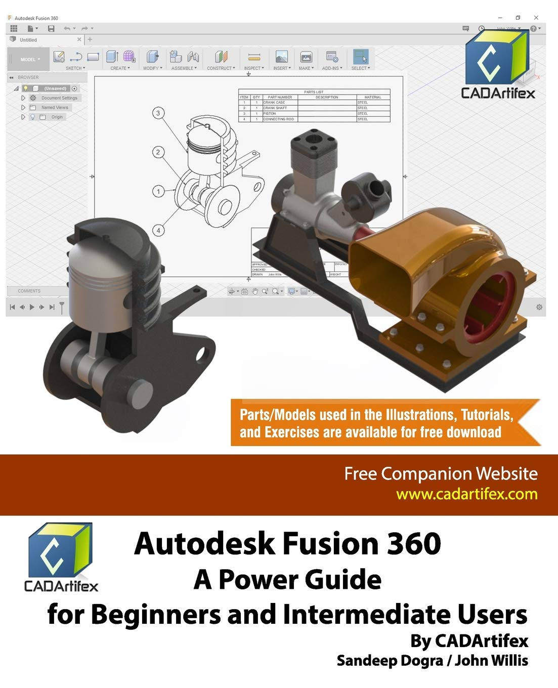 Autodesk Fusion 360  A Power Guide For Beginners And Intermediate Users