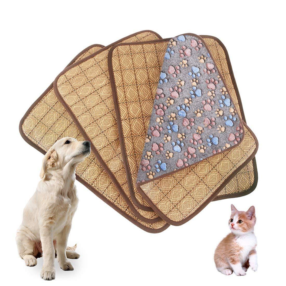 FERZA home Tappetino per per per stuoia di bambù Tappetino per stuoia di ghiaccio Tappetino per la dissipazione di calore per l'estate e l'inverno Coperta per animali domestici Coperta per cani Cucciolo di ca eb5a62