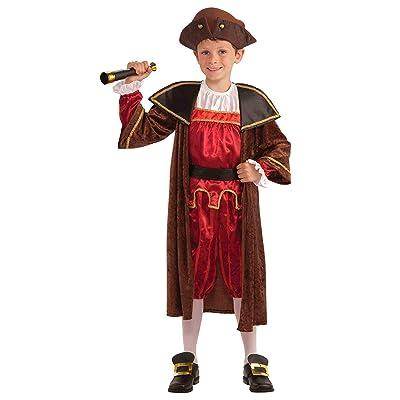 Forum Novelties Children's Christopher Columbus Costume, Large: Toys & Games