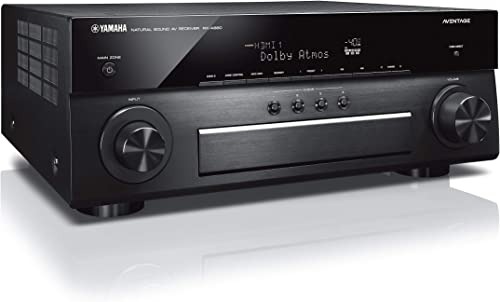 Yamaha Aventage RX-A880 7.2-ch 4K Ultra HD AV Receiver