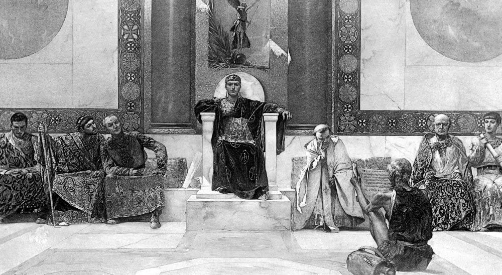 Justinian I The Great Byzantine Empire Art Print//Poster