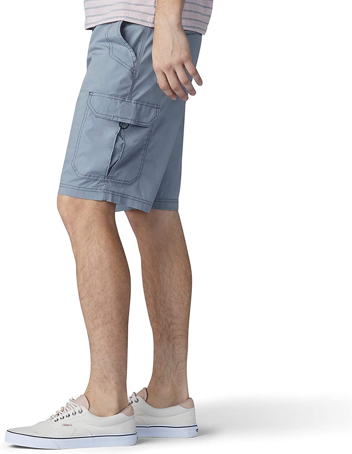 Storm Gray 33 Lee Mens Extreme Motion Crossroad Cargo Short