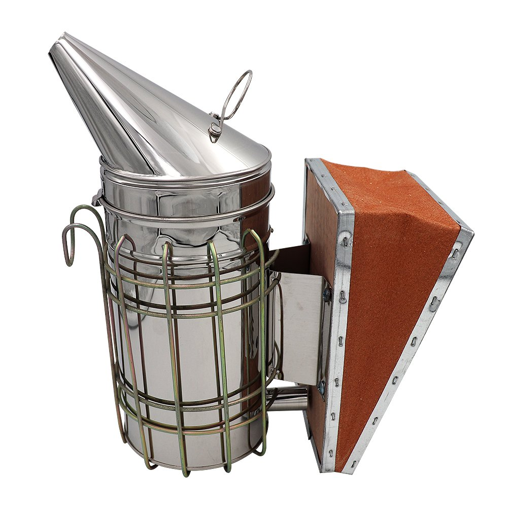 Farm & Ranch Stainless Steel Bee Smoker bekeeping equipments and tools Beekeeper's tools