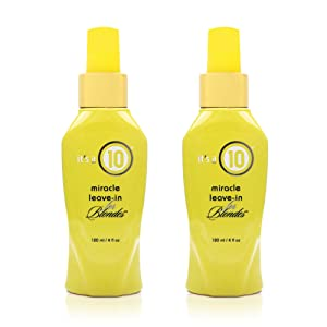 It's a 10 Haircare Miracle Leave-In Product for Blondes, 4 fl oz. (Pack of 2)