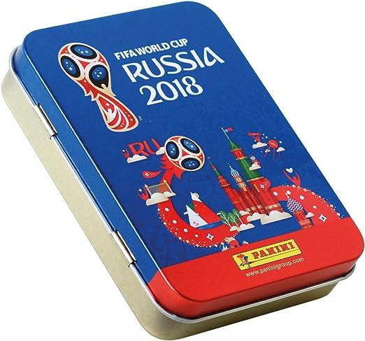 Panini - Mundial Rusia 2018 Caja con 100 Sobres - Versión importada de Alemania [Los números de los cromos de la versión importada Pueden no coincidir con el álbum de la versión