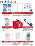 First Aid Kit Survival Kit 130 Pcs,Complete