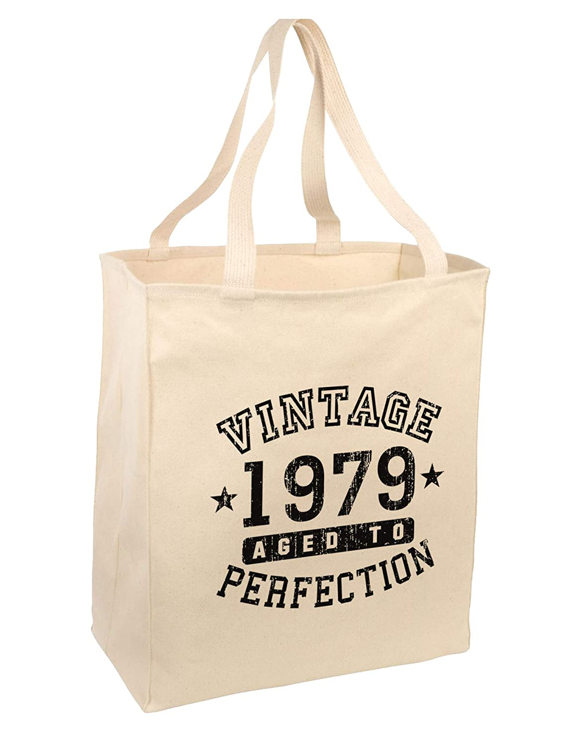 40th Birthday Gift Tote Shopping Cotton Bag Vintage 1979 Matured To Perfection