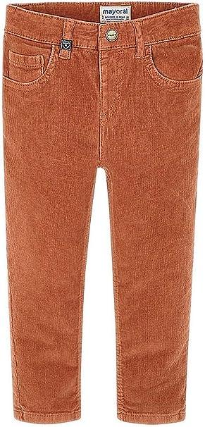 Mayoral 0537 - Pantalón básico con cordón para niño - Marrón - 24 ...