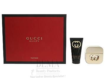 0e99c5d61ef Gucci Guilty Pour Femme Giftset Eau De Toilette Spray 30ml   Body Lotion  50ml 80ml