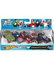 Hot Wheels Marvel Avengers Assemble Avengers 5-Pack