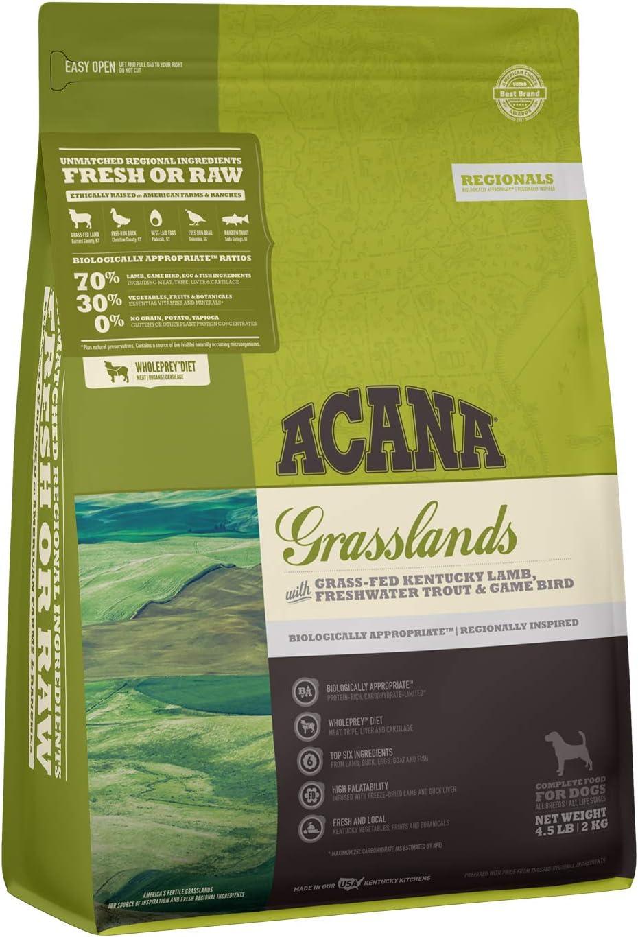 ACANA Regionals High-Protein, Grain-Free, Premium Animal Ingredient, Adult Dry Dog Food