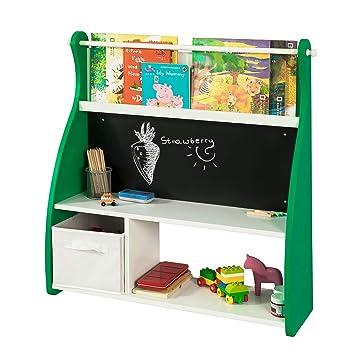 SoBuy KMB09-GR Librería Infantil para Guardar Juguetes ...