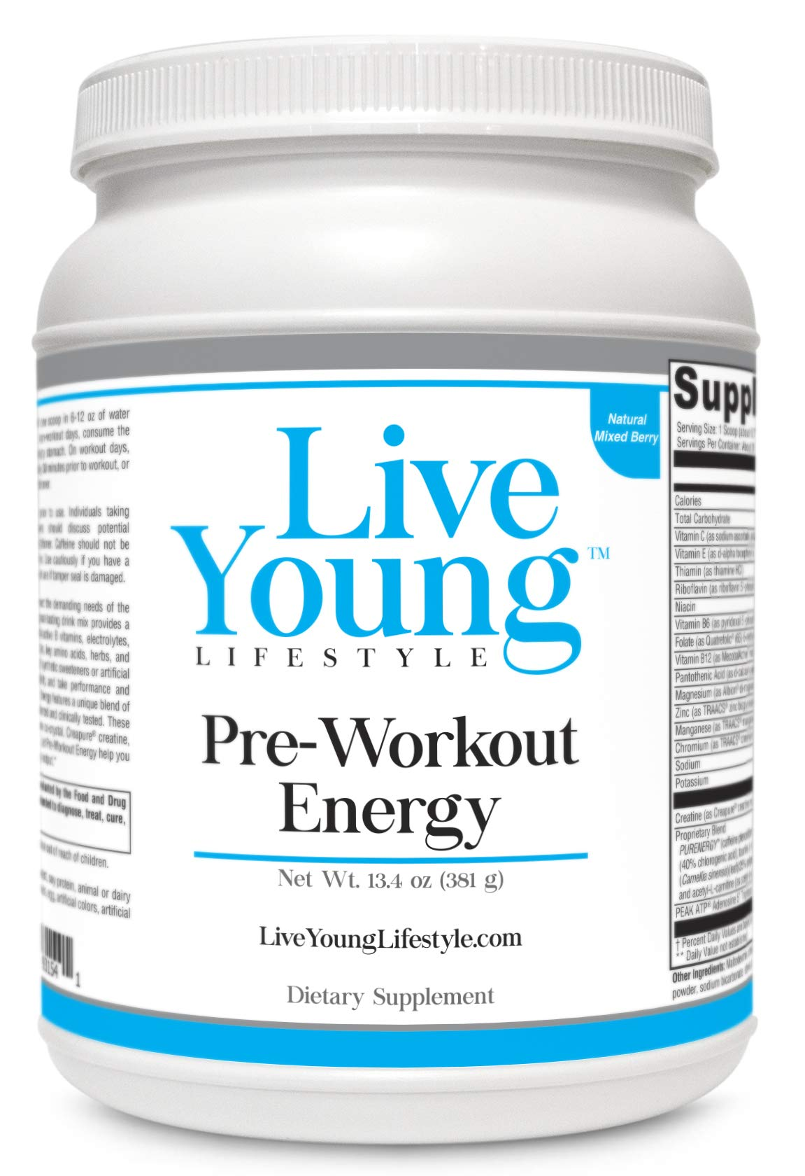Live Young Pre-Workout Energy