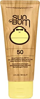 product image for Sun Bum Original SPF 50 Sunscreen Lotion | Vegan and Reef Friendly (Octinoxate & Oxybenzone Free) Broad Spectrum Moisturizing UVA/UVB Sunscreen with Vitamin E | 3 oz