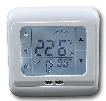 Wie kann ich einen neuen Thermostat anhaken