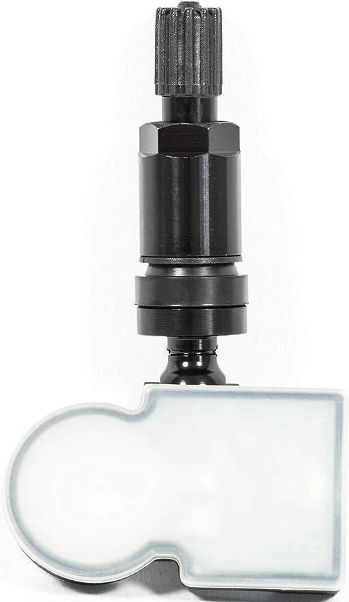 4x RDKS TPMS Reifendrucksensoren Metallventil Schwarz passend f/ür 1er 3er Z4 Supra
