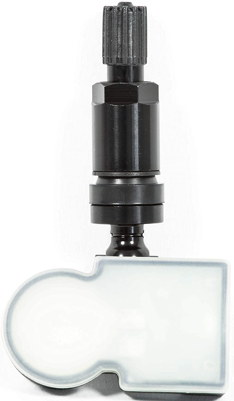 4x RDKS TPMS Reifendrucksensor Reifendruckkontrollsystem Metallventil Schwarz passend f/ür 3er 5er 6er 7er 8er X3 X4 X5 X7 Z4