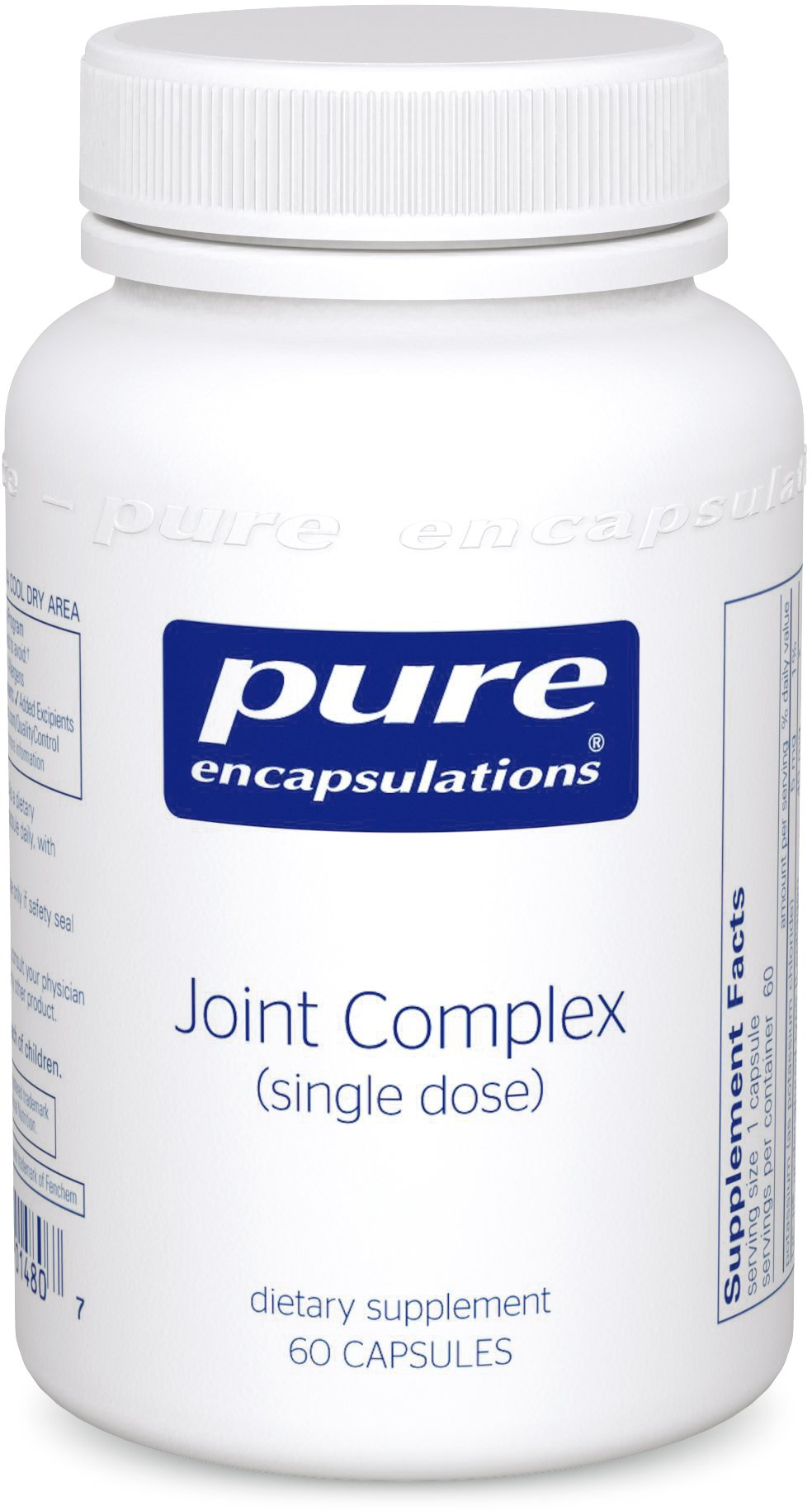 Pure Encapsulations - Joint Complex (Single Dose) - One-A-Day Formula Supports Joint Function and Comfort* - 60 Capsules