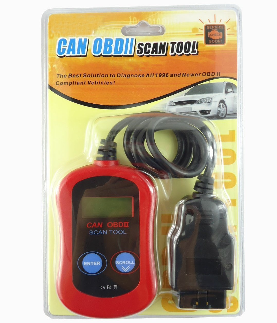 TM Unilink CAN Diagnostic Scan Tool for OBDII OBD2 Vehicles Car Auto Diagnostic Scanner Tool