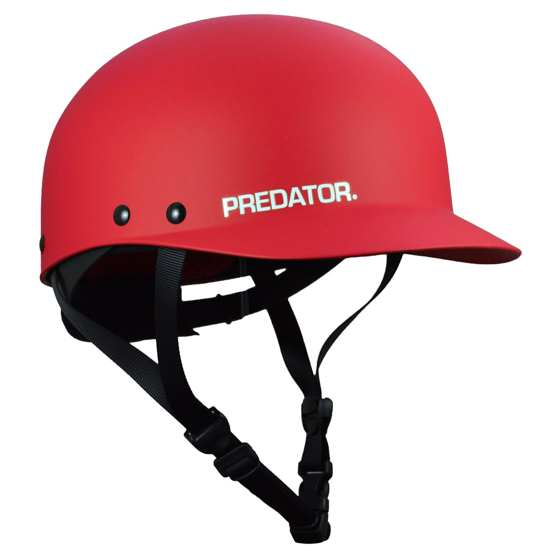 Predator Shiznit Kayak Helmet-Red-L/XL